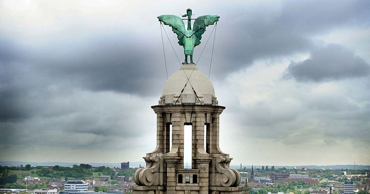 There's more than just the main statues on the Liver Building to look out for