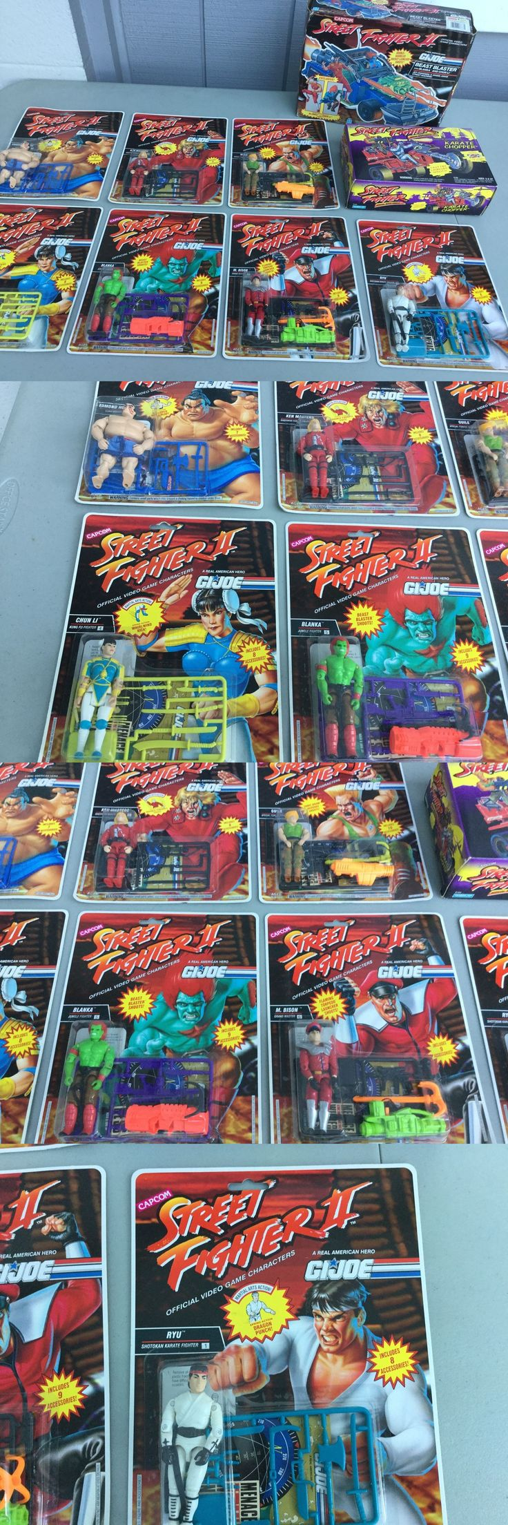 Military and Adventure 158679: Hasbro Gi Joe Street Fighter 2 Lot Of 9 Of Figures And Vehicles Sealed.Look. -> BUY IT NOW ONLY: $299.99 on eBay!