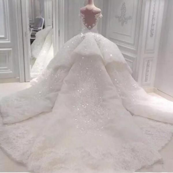 24++ Big ball gown wedding dresses with bling ideas