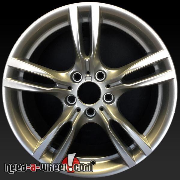 "2012-2016 BMW 320i oem wheels for sale. 18"" Silver stock rims 71619 http://www.need-a-wheel.com/rim-shop/18-bmw-320i-oem-wheels-rims-silver-71619/ , #oemwheels, #factorywheels"