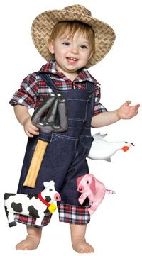 Farmer Baby Costume - Baby Costumes