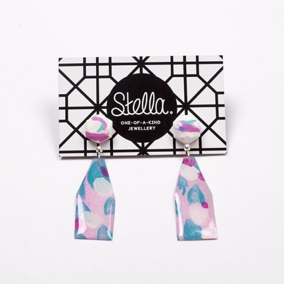 Round She Goes - Market Place - Stella Earrings