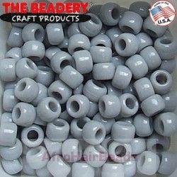The Beadery Haarkralen 9x6mm Grijs