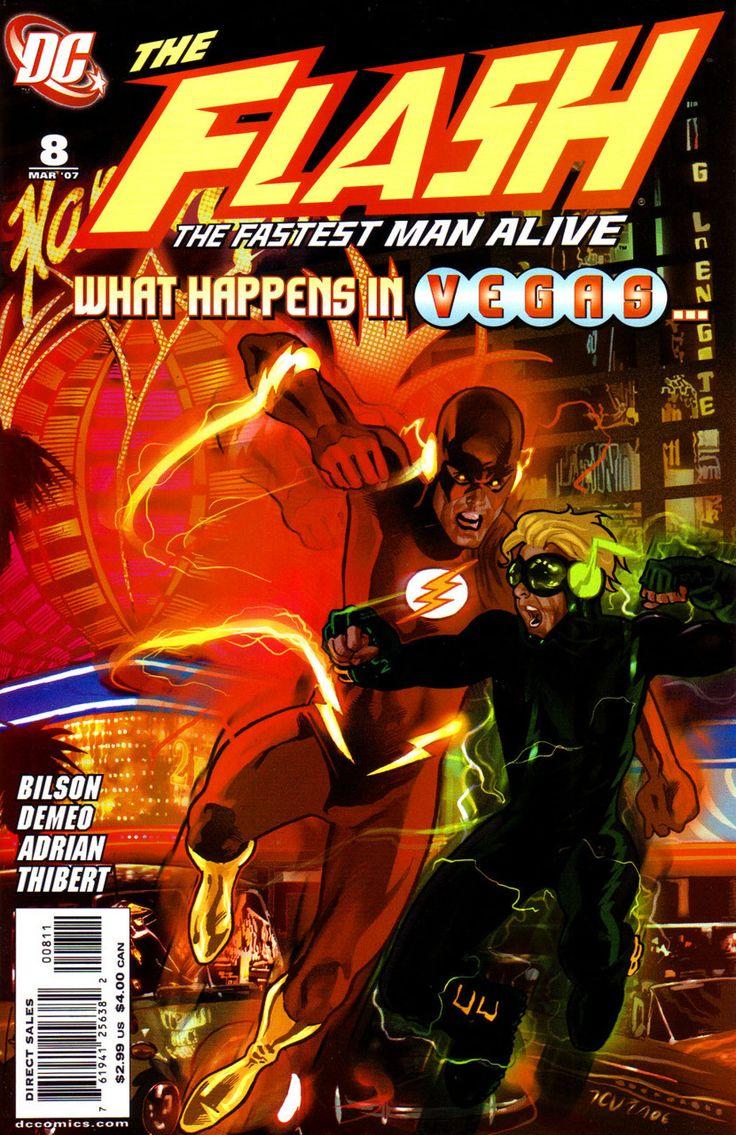 DC Comics - Flash: The Fastest Man Alive (2006) #8