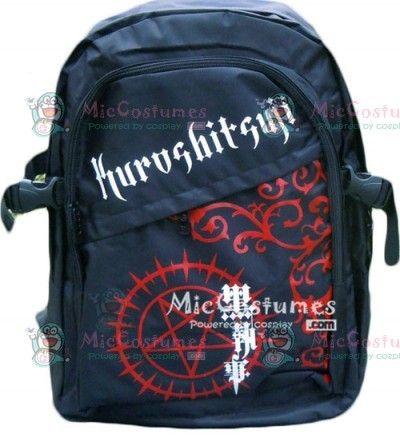 Black Butler Backpack | ... bags black butler anime bags home anime merchandise anime bags black