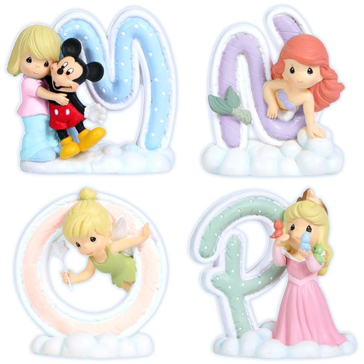 Precious Moments Disney Alphabet M-P