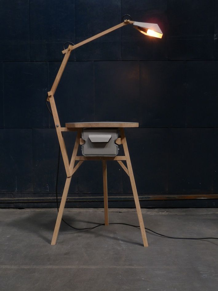 Stool Lamp Cabinet By Jeroen Wand