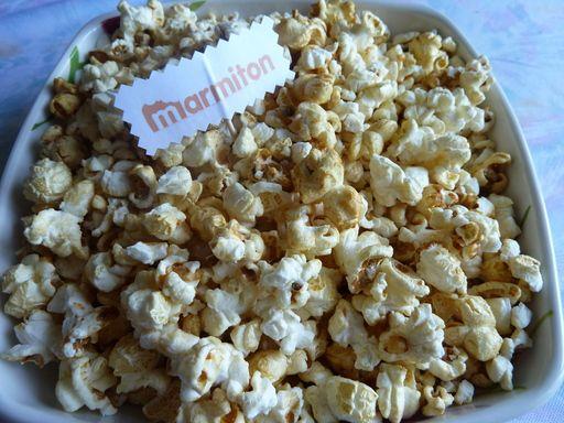 Popcorn Salé ou Sucré - Recette de cuisine Marmiton : une recette