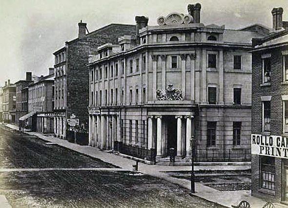 British Bank of North America, Toronto, Canada, 1850s
