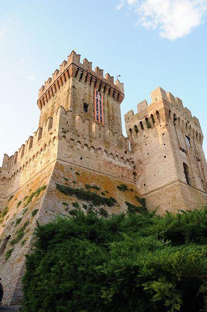 The Offagna Castle, Offagna, Marche, Italy