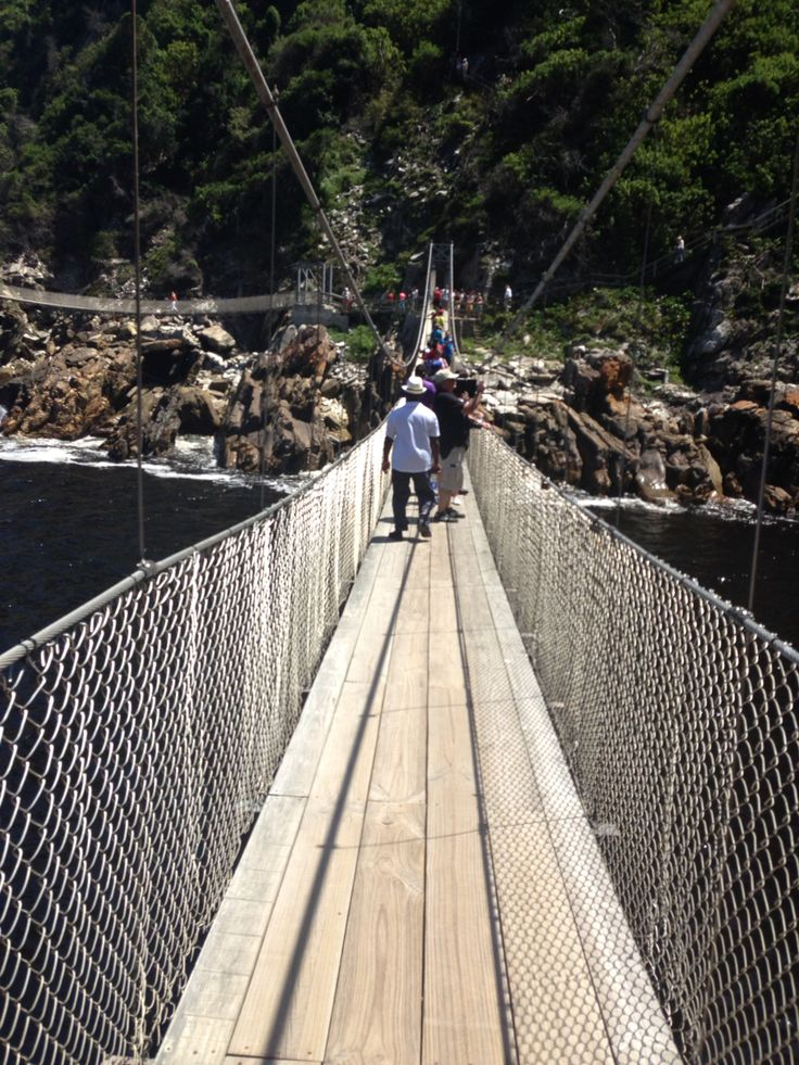 Suspension Bridge Tsitsikama... Tranquility that is nature