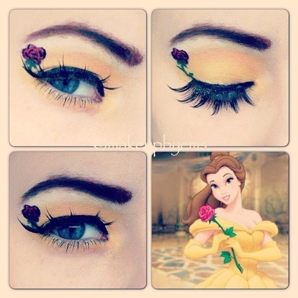 AMAZING Disney Inspired Makeup - Belle Beauty and the Beast