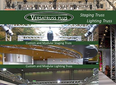 Lighting and Staging Truss for Bars, Dance floors and stages by VersaTruss Plus http://versatrussplus.com