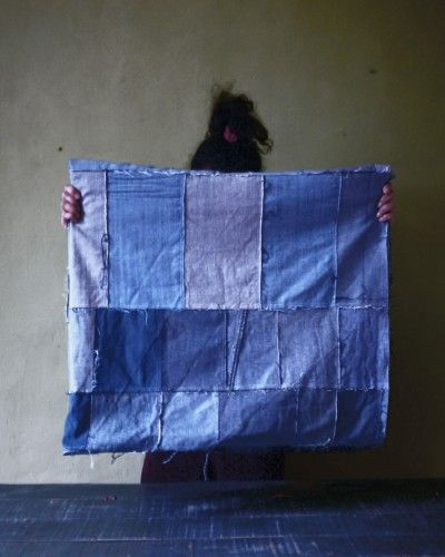 Worker - made from recycled denim by Les Copirates - love!