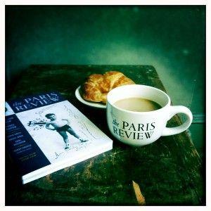 Paris Review cafe au lait cup.