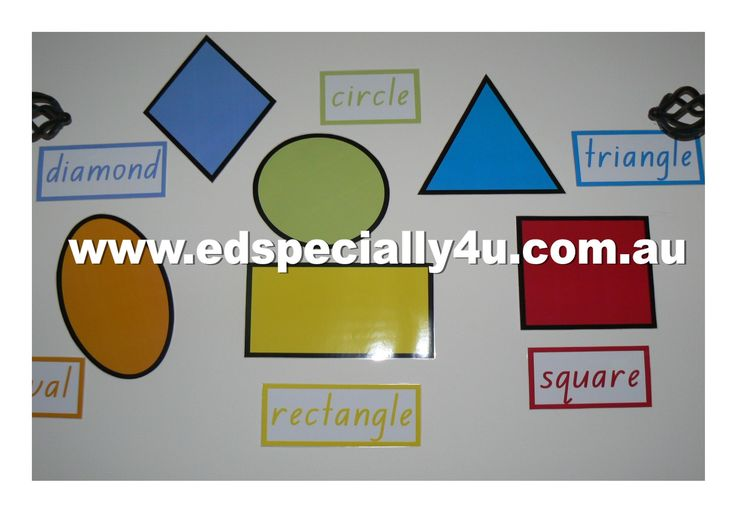 2D shapes charts perfect for wall displays, matching activities and direct instruction learning.  www.edspecially4u.com.au for our full range of teaching and learning resources.