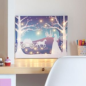 Cinderella Illuminated Canvas                                                                                                                                                                                 More