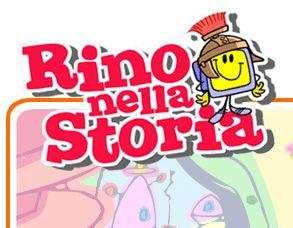 Ancient history in Italian for kids, cartoon style with audio. Storia interativo per bambini elementare/media.