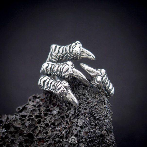 Кольцо Trillobeat  материал: латунь Цена: 2590/Rur  grog-shop.com  #indagrog