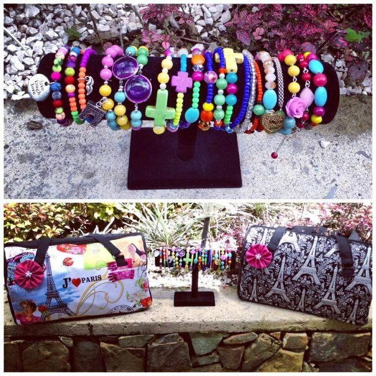 Mis diseños. Doctor's Bag y pulseras. InNova By Fabiola en Fb y en Instagram: @innovabyfabiola