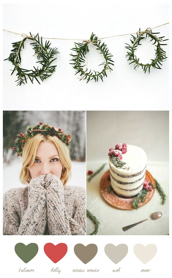 Color Palette: Balsam + Holly