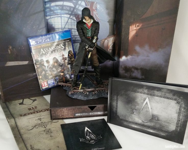 [unboxing] Assassin's Creed Syndicate – Charing Cross Edition (PS4)