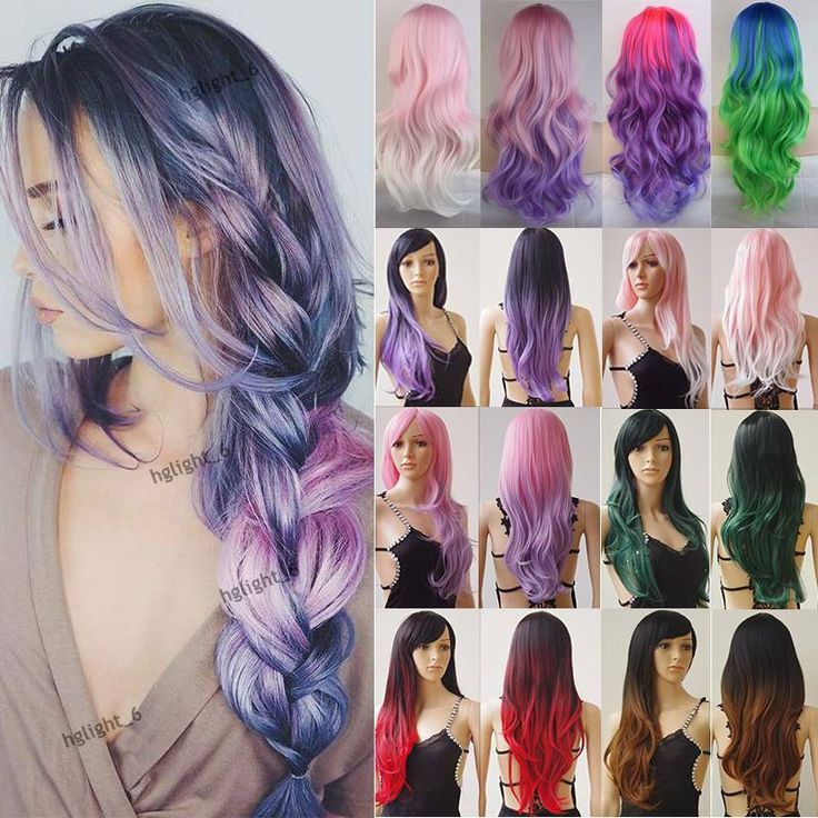 girl anime hair wig