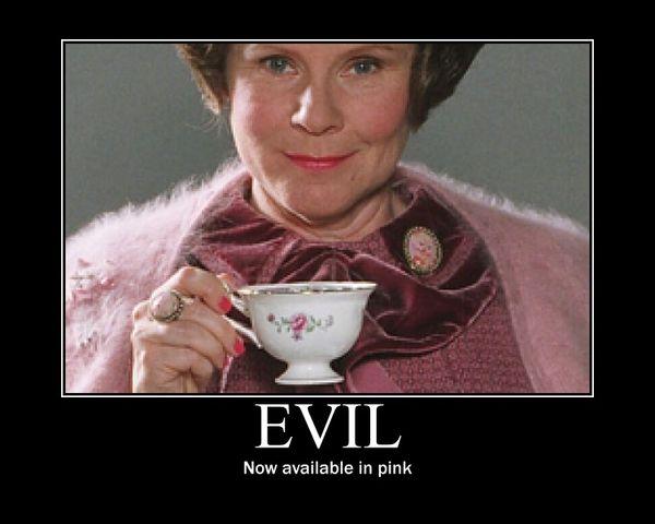 Pink is not always sweet.