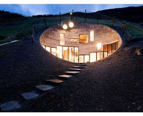 Arched Eco Houses  (CLUSTER)