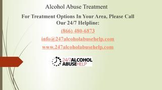 When left untreated, alcohol abuse can lead to addiction that puts its user at risk of serious medical consequences. Alcohol abuse can be successfully treated at certified alcohol abuse treatment centers. A comprehensive treatment for alcohol abuse or addiction comprises of medically assisted detox often followed by therapy or counseling. For those looking for treatment, call the 24/7 Alcohol Addiction Help and let us help you find the finest alcohol treatment facilities, near you.