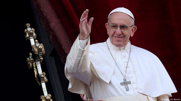 Pope Francis tells German newspaper that he is a sinner   News   DW.COM   08.03.2017