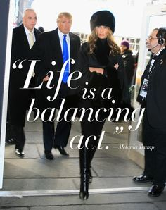 The future First Lady of the United States, Melania Trump, does not give many interviews. She's spoken out so little during her husband Donald's campaign, in fact, that yesterday the Associated Press published an entire profile of the woman that hangs on a few words she once uttered on an episode of The Apprentice.