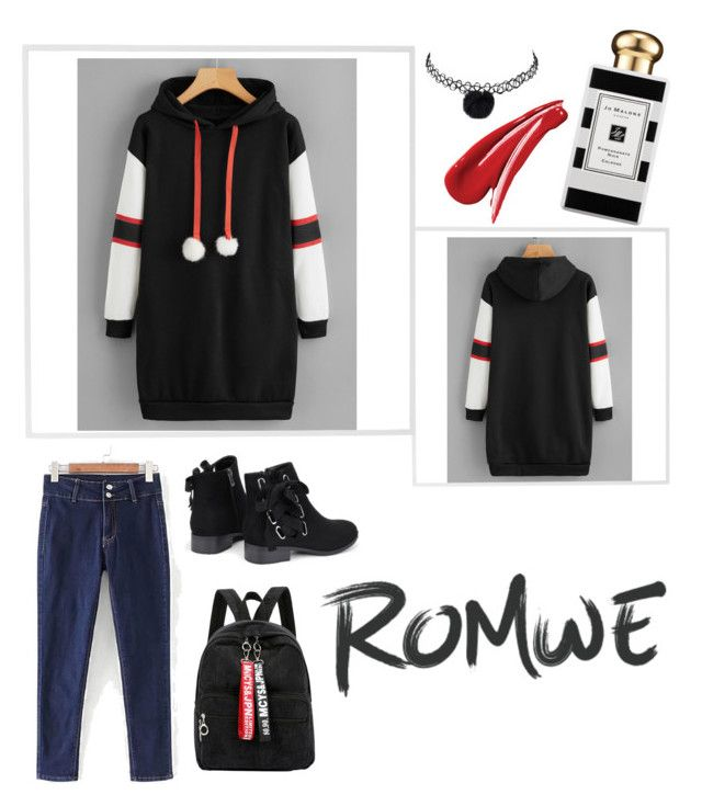 """Romwe contest"" by misk-fawaz ❤ liked on Polyvore featuring Menu and Jo Malone"