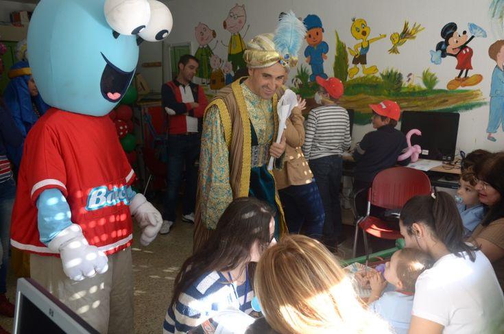 Los pacientes del hospital celebran hoy la Navidad con actividades lúdicas y juegos