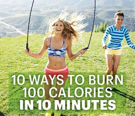 Need to burn some calories fast?  Check out this article by SELF magazine that we loved!