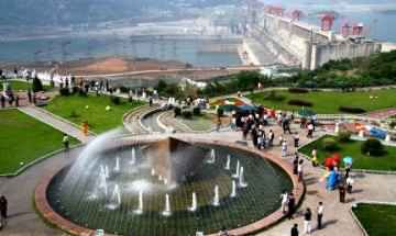 The Three Gorges Dam Square, Yichang