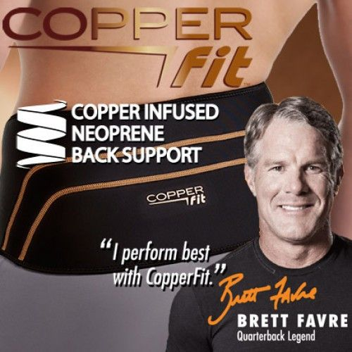Copper Fit Back Brace - #1 Best Seller for Back Support