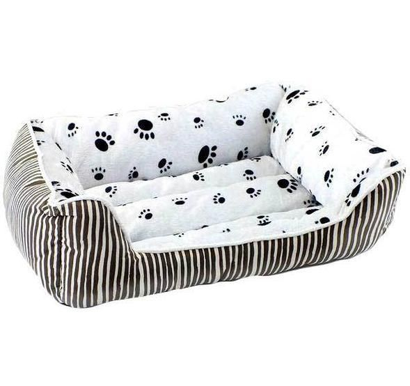 Brown Paw Prints Dog Beds Free Shipping With Tracking To Australia Usa Uk New Zealand And Canada Dog Pillow Bed Dog Pet Beds Cat Sofa Bed