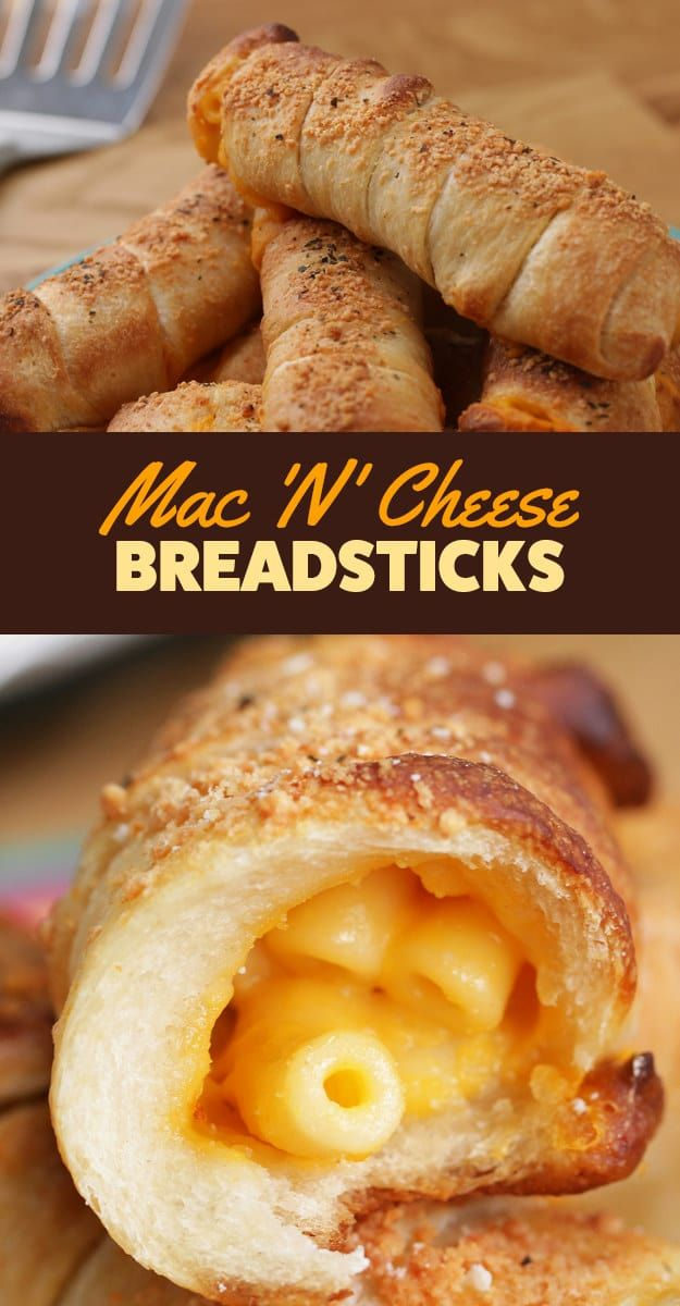 Mac 'N' Cheese Breadsticks Are Here To Change Your Life Forever