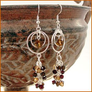Chocolate Rain Earrings Project | Auntie's Beads