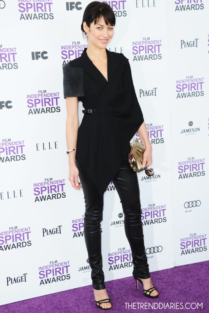 Olga Kurylenko - 2012 Film Independent Spirit Awards in Santa Monica, California.  (February 2012)
