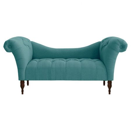 I pinned this Lena Tufted Chaise in Linen Laguna from the Skyline event at Joss and Main!