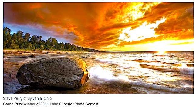 LAKE SUPERIOR MAGAZINE Grand Prize winning photo for 2011