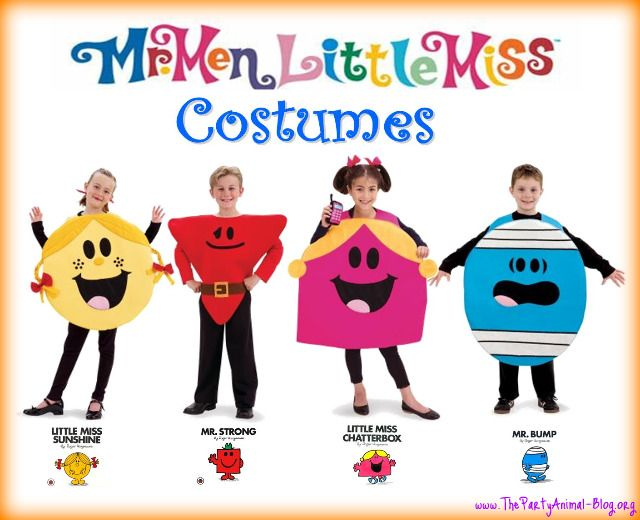 mr men little miss costumes