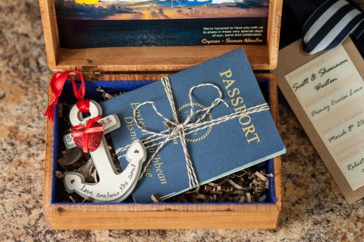 Custom Disney Cruise Passport Invitations Our Disney