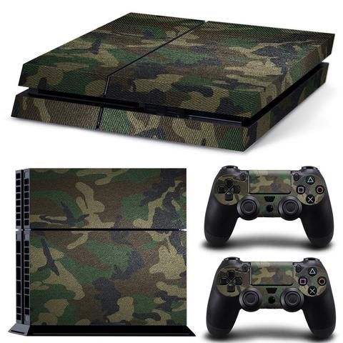 Scratch-protect your Playstation 4 and enhance your gaming experience at the same time. Includes: - 1 Console Sticker - 2 Controller Stickers *Make sure the console and controllers are completely clea