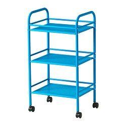 Bathroom Storage Furniture – IKEA Draggan Trolley 199 Yuan = $32.40 74.5 cm high…