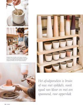 Reportage of Kirstie van Noort for Seasons magazine. Photographer Bart Brussee, styling Linda van der Ham