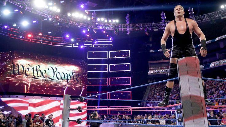 Jack Swagger vs. Baron Corbin: photos