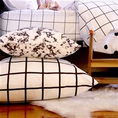 Floor Cushion // Cream Empire - We are a nursery and kids bed linen brand. #cream #empire #kids #bed #linen #brand #design